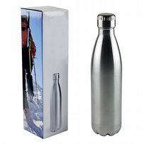 Metal 900ml Insulated Drinking Bottle - Hot and Cold Stainless-Steel Thermos Screw Lid Travel Flask